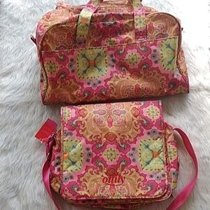 Oilily baby girl diaper bags set